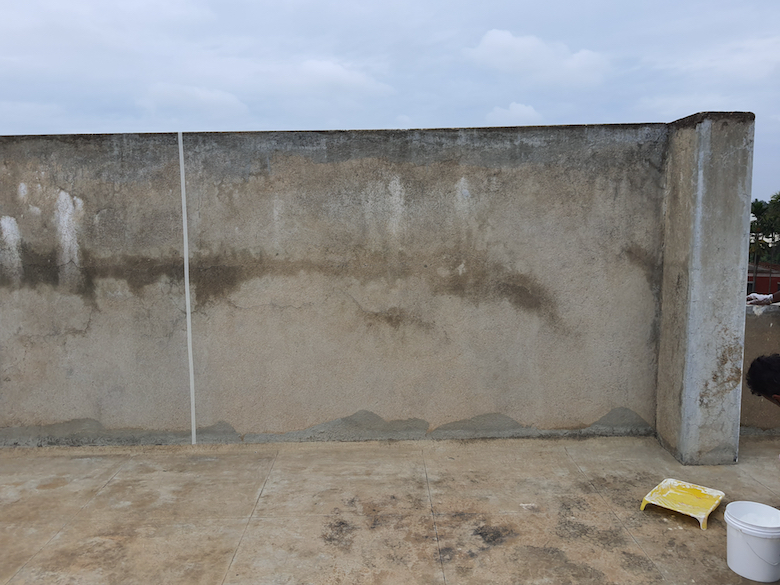 Old Cement Plaster Wall